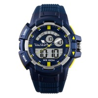 TURBO ANALOG-DIGITAL RUBBER WATCH