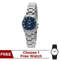 RADIANZA STAINLESS STEEL PAIR ANALOG WATCH