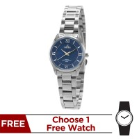 ACCOLADE STAINLESS STEEL PAIR ANALOG WATCH