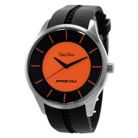 SPONGE COLA SIGNATURE RUBBER ANALOG WATCH