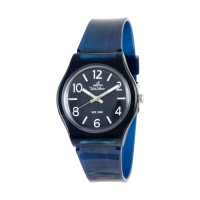 UniSilver TIME Womens Blue Analog Rubber Watch KW3492-2003