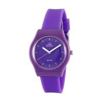 UniSilver TIME Womens Violet Analog Rubber Watch KW3493-2002