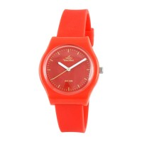 UniSilver TIME Womens Red Analog Rubber Watch