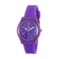 UniSilver TIME Womens Violet Analog Rubber Watch