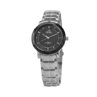 UniSilver TIME Men's Zenturia Pair Analog Stainless Steel Silver / Black  KW1925-1103