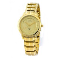 UniSilver TIME Ladies' Zenturia Pair Analog Stainless Steel Gold KW1926-2206