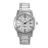 UniSilver TIME Ladies' Stellus Pair Analog Stainless Steel Silver / Off-White KW1414-2101