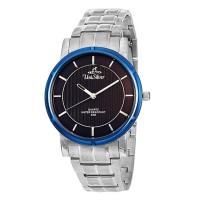 UniSilver TIME Men's Zenturia Pair Analog Stainless Steel Stainless / Black KW1925-1103
