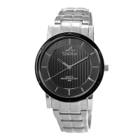 UniSilver TIME Men's Zenturia Pair Analog Stainless Steel Silver/Black KW2243-1501