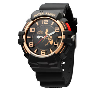 MICHAEL MCDONNELL'S TRIP PINOY MAKABAYAN RUBBER ANALOG WATCH