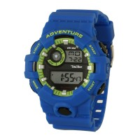 EXEGYS Men's Digital Rubber Watch