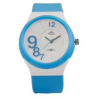 Zonar FLXY Round Analog Rubber Watch