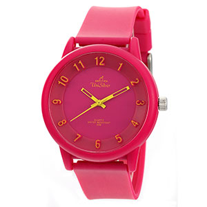 PLICOS RUBBER ANALOG WATCH