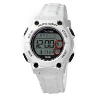 KISSY CUTE WHITE DIGITAL WATCH