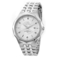 NOVASTELLA Men's Analog Stainless Steel Watch