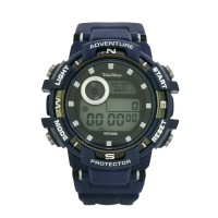 DIXTON Women's Digital Compass Rubber Watch