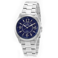 AQUESTRA Men's Analog Stainless Steel Watch