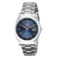 VALORE Men's Analog Stainless Steel Watch
