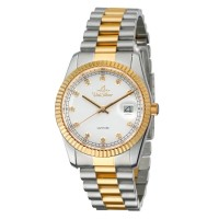 REMUS DEMANTI Women's Analog Sapphire Stainless Steel Watch