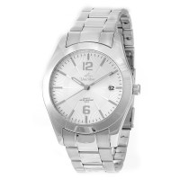 FISSION Men's Analog Stainless Steel Watch
